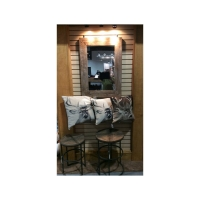 RECLAIMED WOOD AND LIFE AT THE CABIN 1